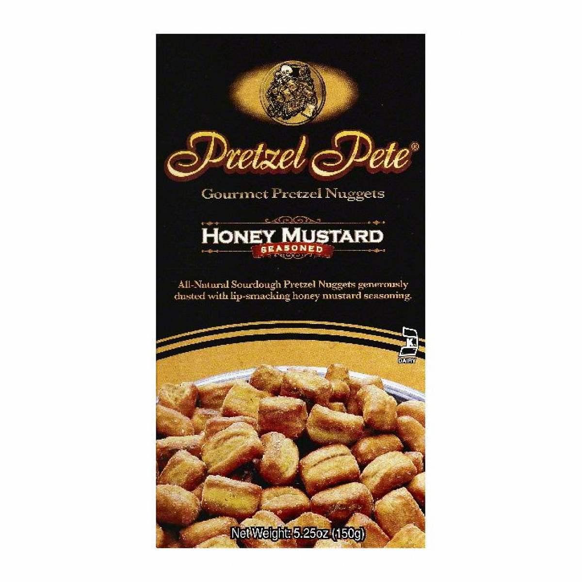 Pretzel Pete Gourmet Honey Mustard Pretzel Nuggets
