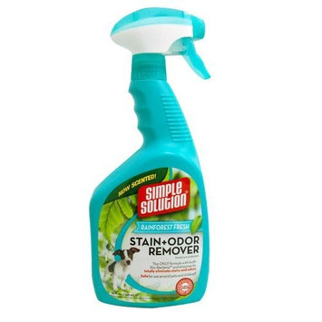 Simple Solutions Rainforest Fresh Stain and Odor Remover, 32-Ounce Spray
