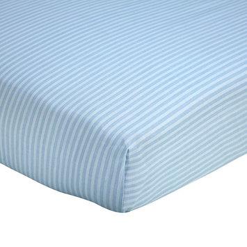 Wendy Bellissimo Sweet Safari Crib Sheet One Size (Blue)