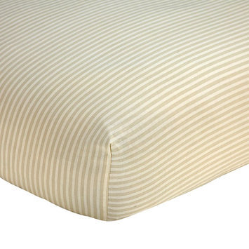 Wendy Bellissimo Sweet Safari Crib Sheet One Size (White)