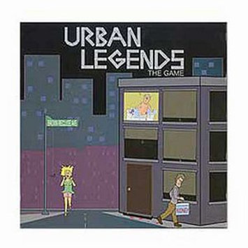 Urban Legends Strategy Board Game Ages 18+