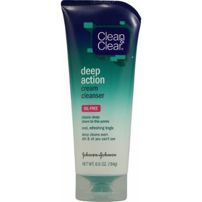 Oil Free Deep Action Cream Cleanser By Clean and Clear for Unisex, 6.5 Ounce