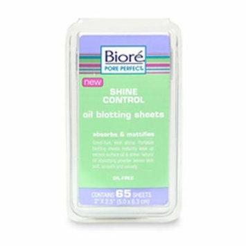 Bioré Shine Control Oil Blotting Sheets Absorbs & Mattifies