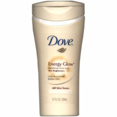 Dove Energy Glow Beauty Body Shimmering Lotion ~ For All Skin Tones ~ 6.7oz