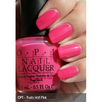OPI That's Hot! Pink Nail Lacquer