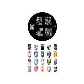 Konad Stamping Nail Art Image Plate M70