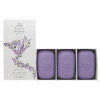 Woods of Windsor Lavender Fine English Soap (Box of 3) 3.5ozea Bars