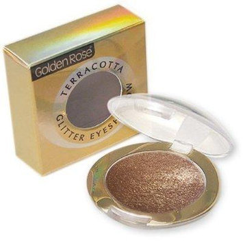 Golden Rose Terracotta Glitter Eye Shadow (221 Nude)