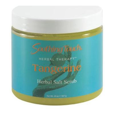 Soothing Touch Tangerine Salt Scrub 20 Ounce