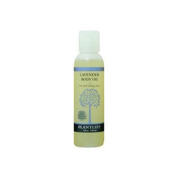 Lavender Body & Bath Oil with Vitamin E, Apricot & Jojoba- 4 oz.