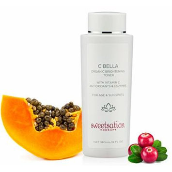 C*Bella Organic Brightening Toner with Vitamin C and Enzymes, 6oz