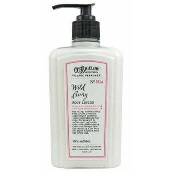 Bath & Body Works C.O. Bigelow No. 1534 Wild Berry Body Lotion 10 fl oz (295 ml)
