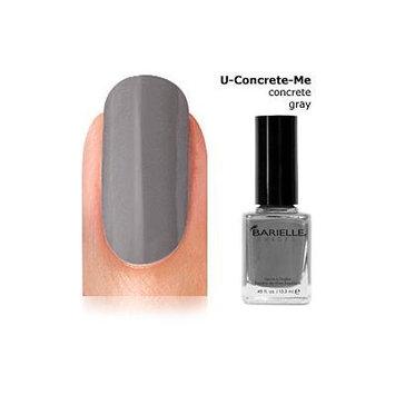 Barielle U-Concrete-Me Nail Polish, Concrete Gray, 0.45 Ounce