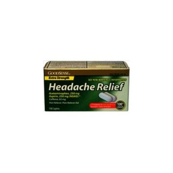 Good Sense Headache Relief Extra Strength 100 Caplets