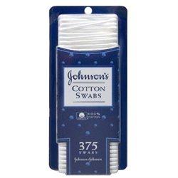 Johnson & Johnson's Cotton Swabs - 375 count