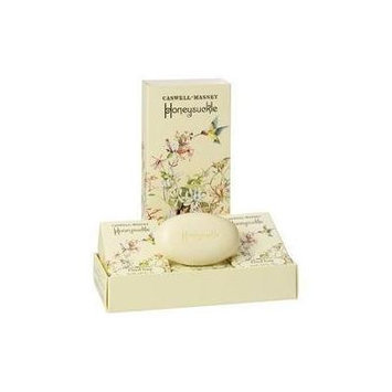 Caswell-Massey Honeysuckle Boxed Gift Set of 3 Bars Soap