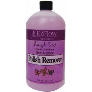 EZ Flow Polish Remover, Pineapple, 16 Fluid Ounce