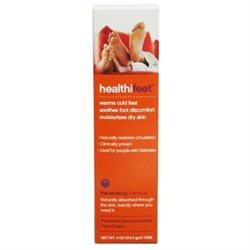 HealthiFeet Foot Cream, Warms Cold Feet, 4 oz