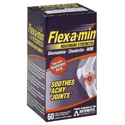 Flex-A-Min Glucosamine Chondroitin MSM, Maximum Strength, Coated Tablets