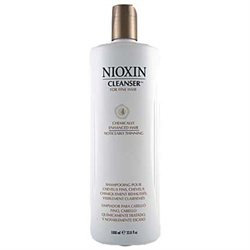 Nioxin By Nioxin System 4 Cleanser For Fine Chemically Enhanced Noticeably Thinning Hair