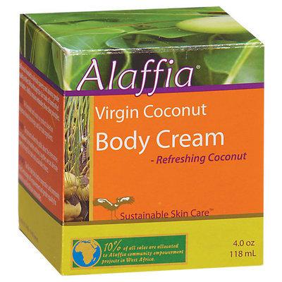 Alaffia - Body Cream Virgin Coconut - 4 oz.