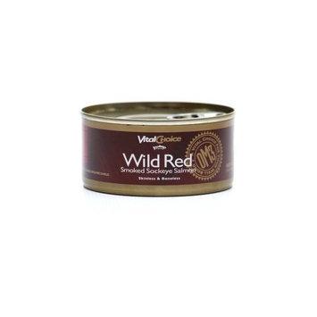 Vital Choice Wild Smoked Sockeye Salmon, 5.5 Ounce Can