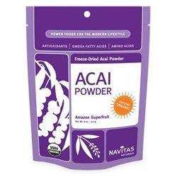 Navitas Naturals Acai Powder, Organic Freeze Dried, 4 oz