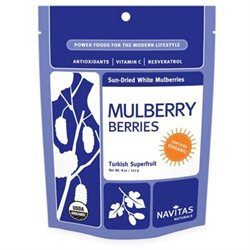 Navitas Naturals Mulberries, Organic Raw, 8 oz