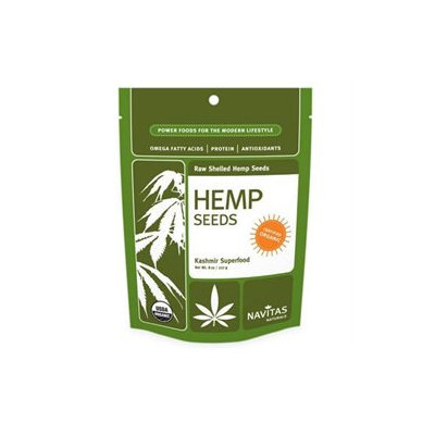 Navitas Naturals Organic Shelled Hemp Seeds - 8 oz - Vegan
