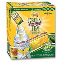 To Go Brands,inc. To Go Brands Green Tea Energy Fusion, Honey Lemon