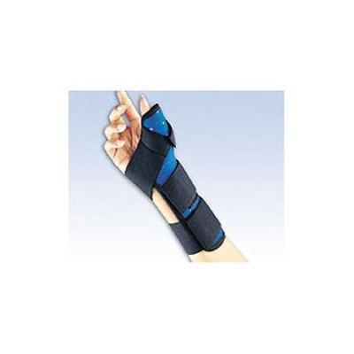 FLA Orthopedics Hospital Grade Soft Fit Blue Thumb Spica
