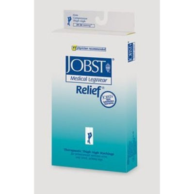 Jobst Relief 20-30 mmHg Open Toe Pantyhose Size: Large