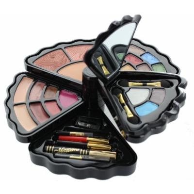 BR- All in one Makeup Set - Eyeshadows, Blush, Lip gloss and Mascara