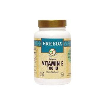 Freeda Kosher Vitamin E 100 IU With Mixed Tocopherols 100 TAB