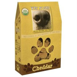 Wet Noses Organic Dog Treats, Cheddar, 14 oz