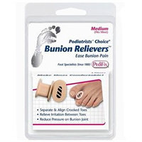 Pedifix Toe Separator Pedifix Bunion Reliever, Toe Spreader, Medium - 1 Ea