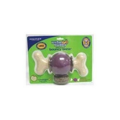 Premier Pet Products - Busy Buddy Bouncy Bone- Purple Large - BB BCY BN L