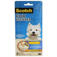 Scotch Fur Fighter Hair Removal Refill Sheets, 8 ea