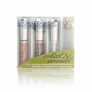 Prestige Lightshine Weightless High Shine Lipglosss + Charming Accessory LSLM-01 Tobago-Thira-Cabo