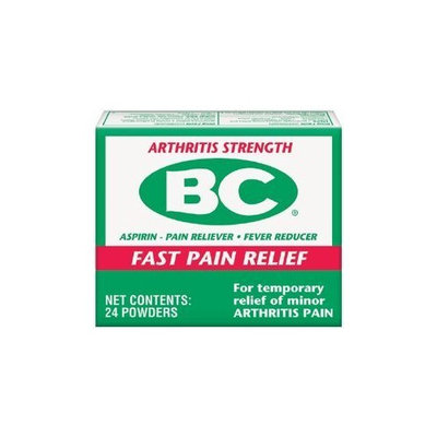 BC Powders Arthritis Strength, 24 Count (Pack of 6)
