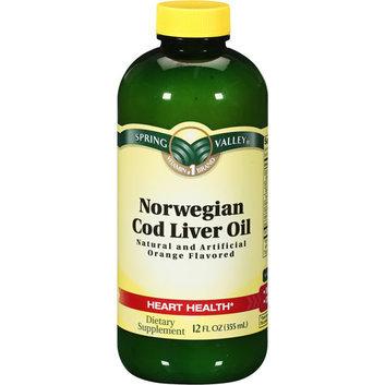Spring Valley Norwegian Cod Liver Oil