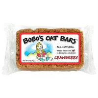 Bobos Oat Bars Cranberry All Natural Wheat Free Oat Bar, 3 oz