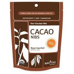 Navitas Naturals Cacao Nibs, Organic Raw, 8 oz