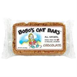 Bobos Oat Bars Chocolate, All Natural Wheat Free Oat Bar, 3 oz