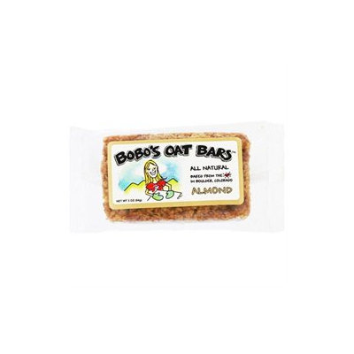 Bobos Oat Bars Almond All Natural Wheat Free Oat Bar, 12 bars