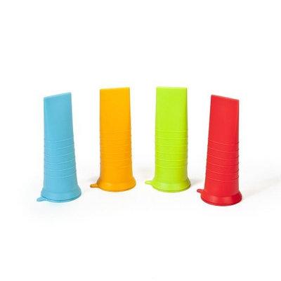 Luft Industries - Kinderville Kinderville Little Bites Ice Pop Molds (Assorted) - 4-pack