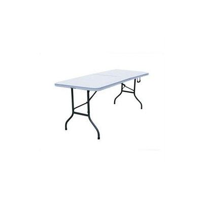 Merax All Purpose Fold-in-Half Table in Grey