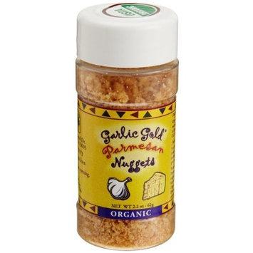 Garlic Gold, Organic Parmesan Nuggets, 2.2-Ounce Jars (Pack of 6)