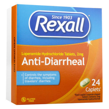 Rexall Anti-Diarrheal Tablets, 24 ct