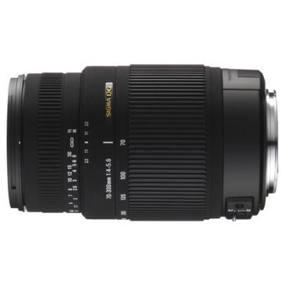 Sigma telephoto zoom lens - 70mm - 300mm